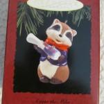игрушка для елки енот