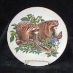 сувенирная тарелка еноты