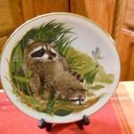 сувенирная тарелка еноты (2)
