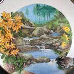 сувенирная тарелка енот