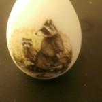 сувенир яйцо с енотиком