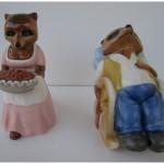 фигурки с енотами муж жена