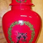 новогодняя ваза