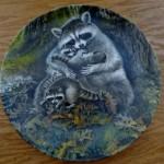 тарелка с ребенком