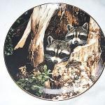 Тарелка декоративная в технике декупаж. 1500руб