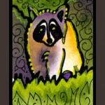 """Удивительные рисунки с енотиками. Музей енотов """"Дом Енота"""" www.dom-enota.ru"""