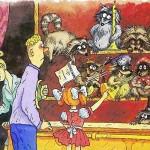 """Мультфильм с енотами. . Музей енотов """"Дом Енота"""" www.dom-enota.ru"""