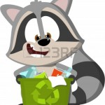 9603225-cute-cartoon-raccoon-recycling