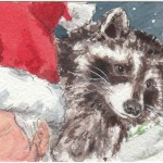 santa raccoon copy
