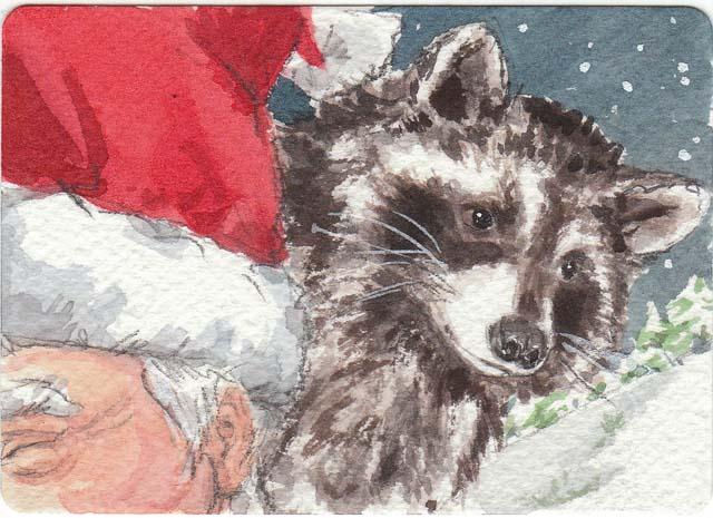 santa raccoon copy