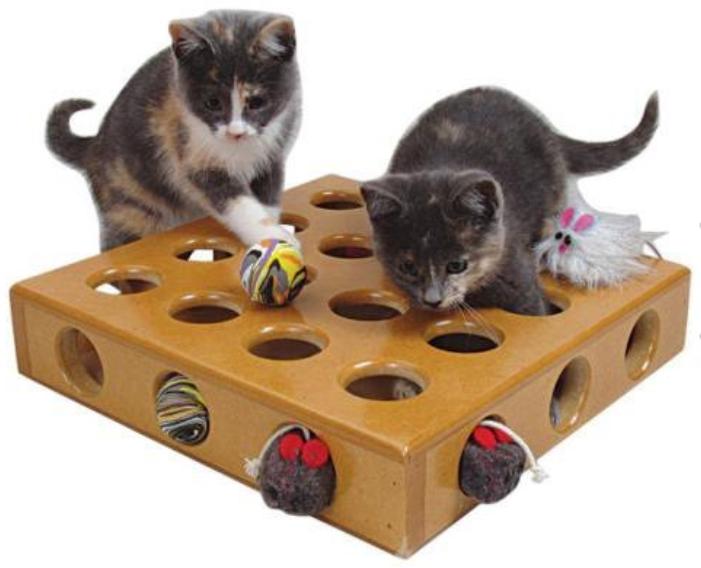 Сделать игрушку кошке своими руками