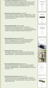 Некоторые из работ института