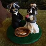 Подставка под кольца или статуэтка на торт