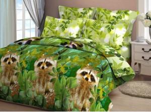 постельное белье, постельное белье с енотами, спать с енотом, рисунок с енотом, Дом Енота, дом с енотами, дома с енотами